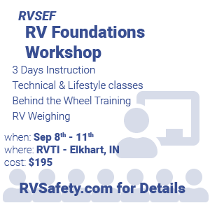 RVSEF RV Technical Education and Safety Conference